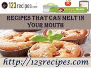 Why is there a necessity for excellent recipes?