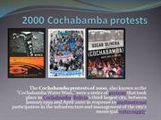 2000 Cochabamba protests