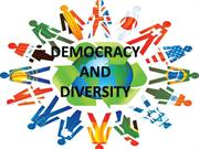 DEMOCRACY in DIVERSITY