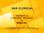 SAS Clinical Training & Placement