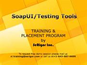 SOAP(UI) Training PPT