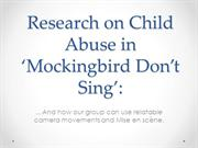 Research on Child Abuse in Mockingbird Don't Sing