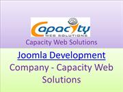 Joomla Development Company - Capacity Web Solutions