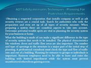 ADT Safety measures Techniques - Planning For Protection Requirements