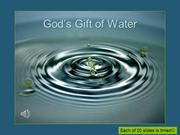 God's Gift of Water