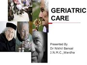 Geriatric care - 25