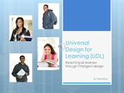 Universal Design for Learning (UDL) by Tracie Dury