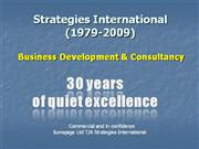 30 years of Strategies