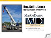 Buy, Sell or Lease Equipment and Service at Marcodepot