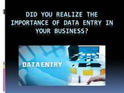 Data Entry Services | Online Data Entry Services
