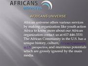 African Community ppt
