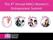 The 4th Annual MACs Women's EntreSummit