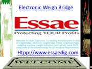 Saviour,Ecodek ,Weigh Bridge Software ,Rail Sensors, Weight Scales for