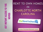 Rent to Own Homes in Charlotte-north-carolina