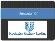 B.P.S.M Strategies HINDUSTAN UNILEVER