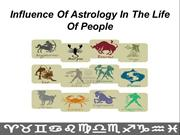 Influence Of Astrology In The Life Of People