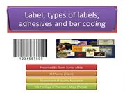 label & barcoding