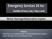 Water Damage Restoration Jupiter
