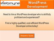 WordPress Website Developers for Ecommerce Development in India
