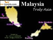 Malaysia Holiday Travel Packages from Bangalore
