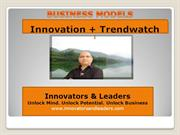 Business Models = Innovation + Trendwatch