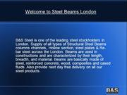 Steel Beams London
