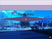 Digital Story-Human Development-Beverly Vanover 2