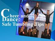 Cheer and Dance: Safe Tumbling Tips