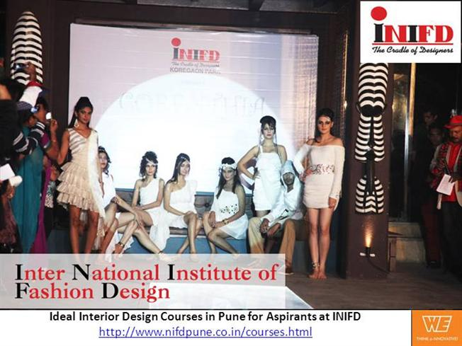 Ideal Interior Design Courses In Pune For Aspirants At INIFD