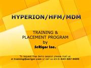 HYPERION Traininig PPT