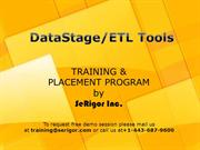 IBM Datastage(ETL) Training PPT