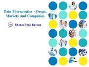 Pain Therapeutics - Drugs, Markets and Companies