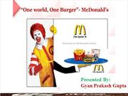 McDonald's gyan