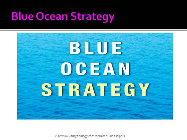 blue ocean strategy simulation game consoles blue box