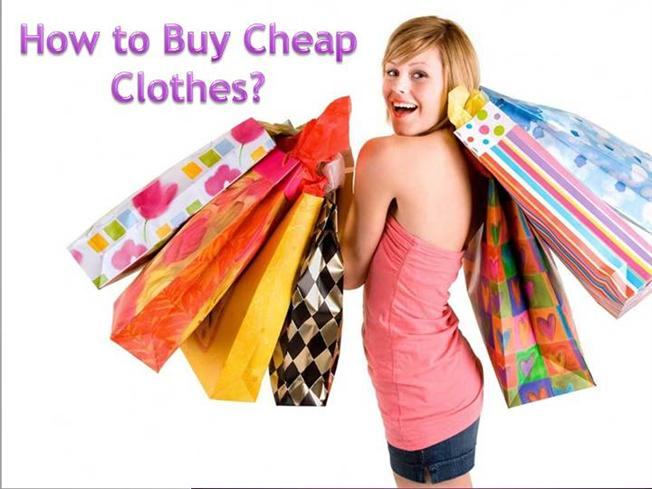 How to Buy Cheap Clothes Online |authorSTREAM