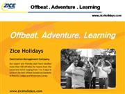 Zice Holidays - Corporate Profile - Offb
