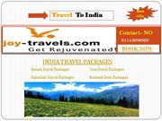 Travel Trip To India Travel Package Tours By Joy Travels