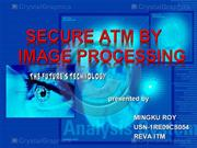 secure atm by image processing