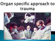 organ specific approch to trauma