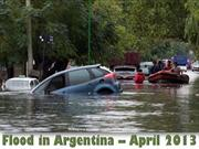 Flood in Argentina april 2013