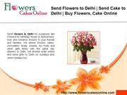 send flowers to delhi