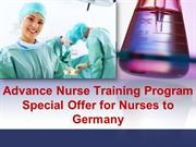 Advanced Nurse Training for Filipino Nurses to Germany