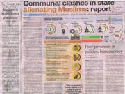 Socio-economic Profile of Muslims in Maharashtra ToI & HT 6-4-2013
