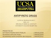 ANTIPYRETIC DRUGS