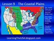 Learning The USA L 9 Coastal Plains SlideShow