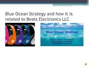 Beats by Dr. Dre compared to Blue Ocean Strategy
