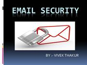vivek Email security