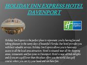 holiday inn express hotel davenport