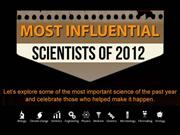 The most influential scientists of 2012