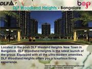 DLF Woodland Heights Bangalore | 9019189860 | DLF My Town Bangalore